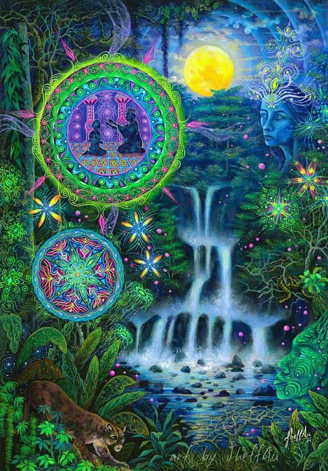 PHAWCHI RUNA (Deidades acuáticas) Jheferson Saldaña Valera la libertad un otro camino lena jaros